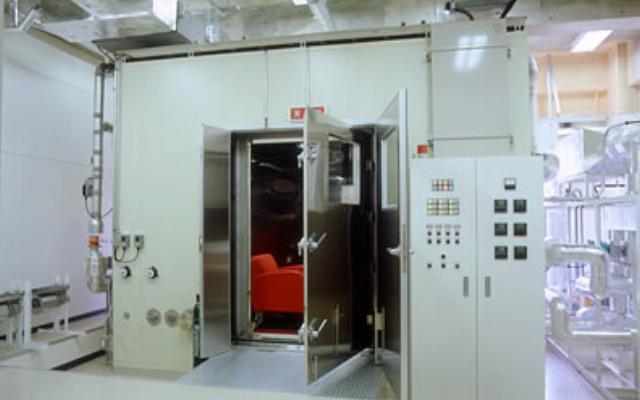VOC放散量測定用大形チャンバー装置
